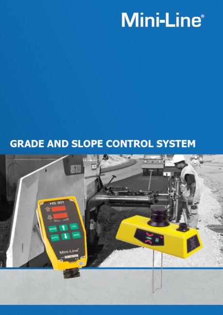 Mini-Line® Grade & Slope Control System G224